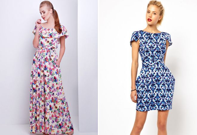 Sewing a summer skirt from a staple  We sew a dress from a